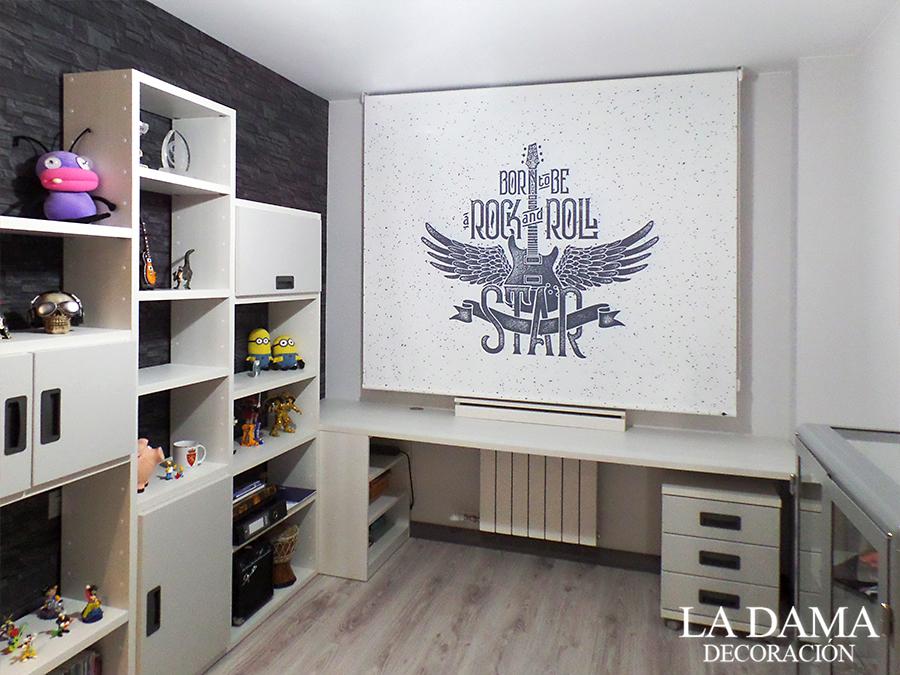 Estores juveniles 4 ideas para el dormitorio la dama - Estores dormitorio ...