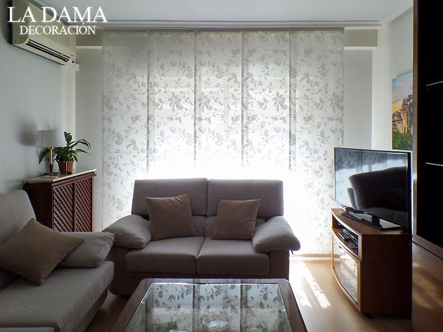 Paneles japoneses en zaragoza la dama decoraci n for Estores japoneses baratos