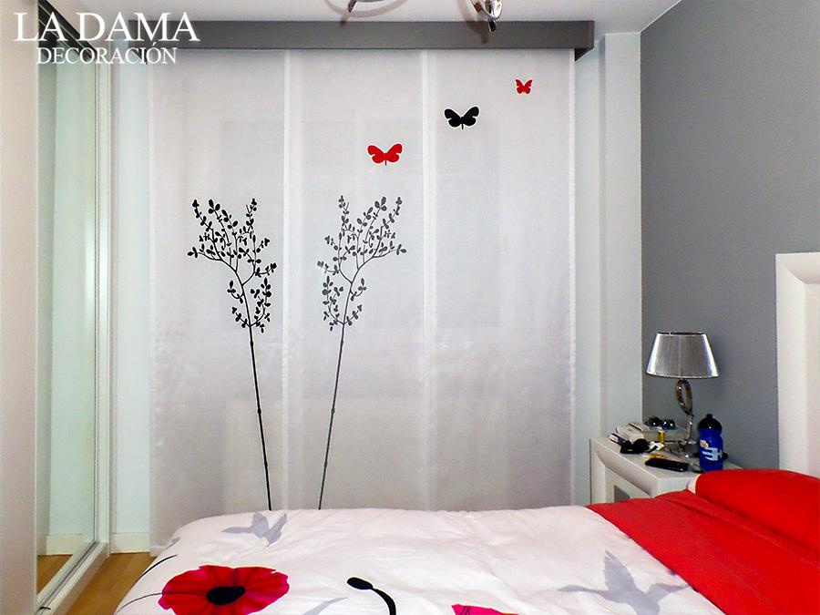 Paneles japoneses en zaragoza la dama decoraci n - Paneles japoneses fotograficos ...