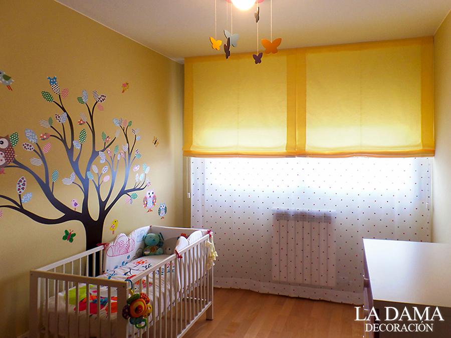 Cortinas infantiles juveniles y para beb s la dama for Cortinas dobles para dormitorios