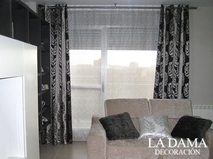 Cortinas con estores las claves para combinarlas la - Combinar cortinas y estores ...