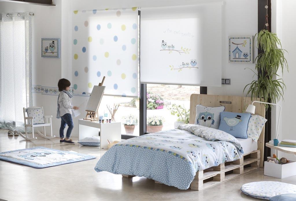 Habitaci n infantil oliver azul la dama decoraci n - Habitacion infantil azul ...