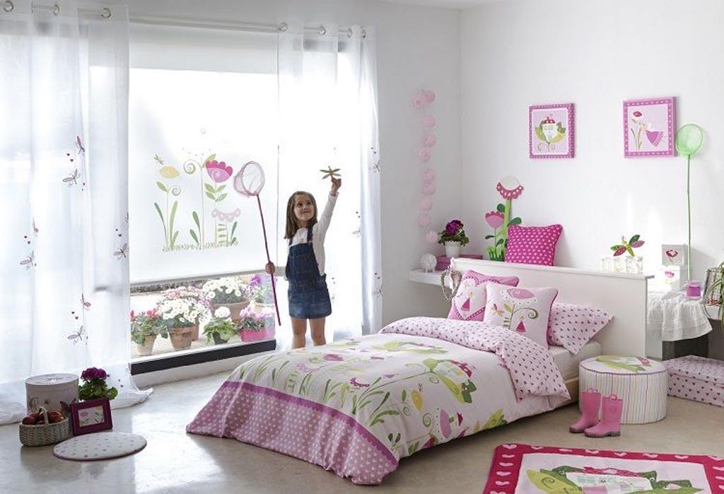Habitaci n ni a alberta la dama decoraci n for Decoracion sencilla habitacion nina