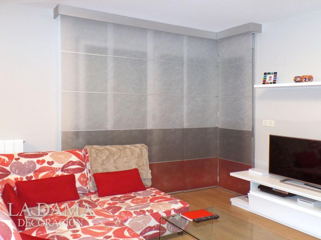 Tendencias de cortinas en zaragoza la dama decoraci n - Paneles japoneses fotograficos ...