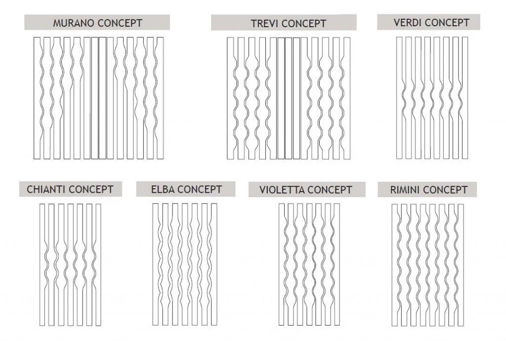 Enam rate de las cortinas verticales con ondas la dama - Formas de cortinas ...