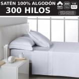 sábanas saten 300 Hilos algodon