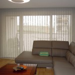 cortinas verticales screen marrones