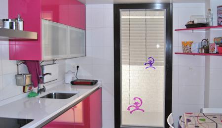 Visillos de cocina la dama decoraci n for Simulador cocinas online