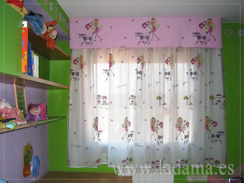 Cortinas infantiles y juveniles en zaragoza for Como hacer un bando para cortinas