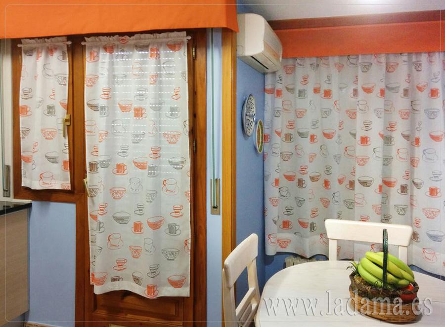 Cortinas modernas para cocina la dama decoraci n for Decoracion de cortinas para cocina