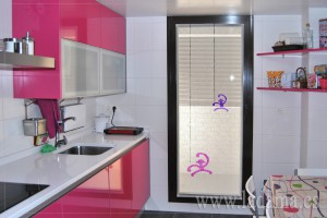 Visillo para cocina moderna la dama decoraci n for Simulador de cocinas online