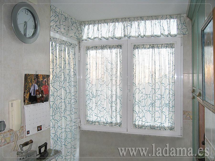 Cortinas de cocina en zaragoza - Telas para visillos cortinas ...