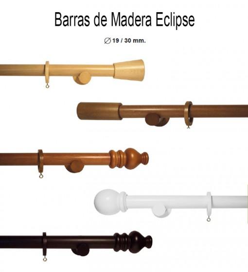 Barras de Cortinas de Madera Eclipse