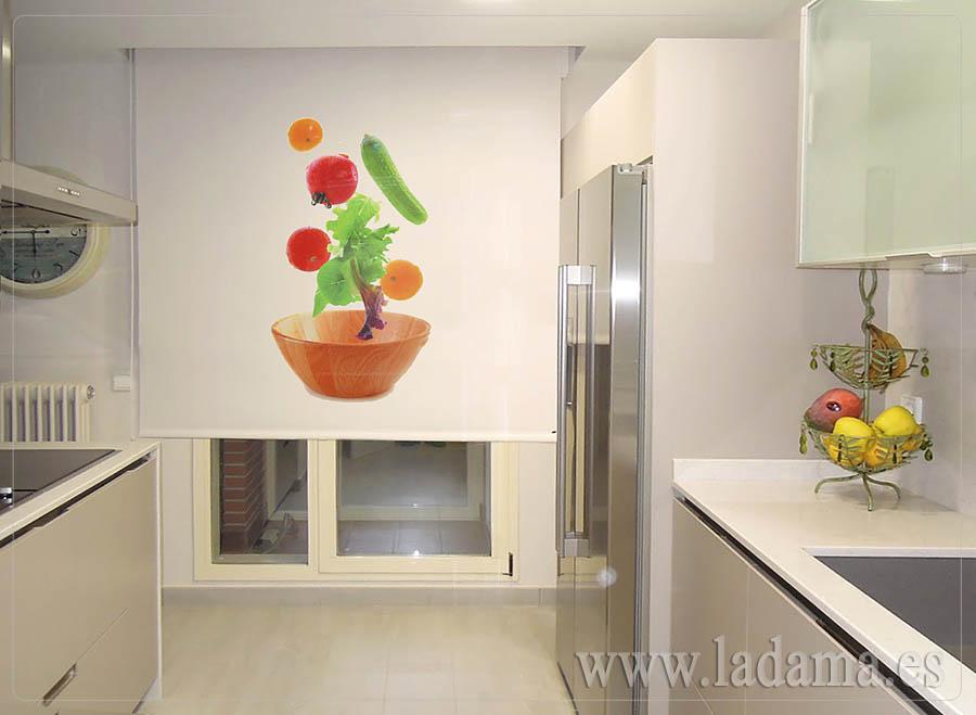 Enrollable screen fotogr fico cocina la dama decoraci n for Simulador cocinas online
