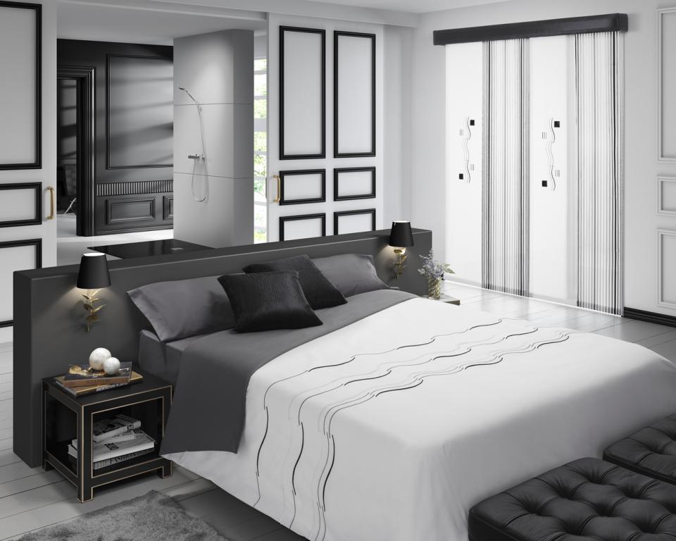 Fundas n rdicas bordadas la dama decoraci n - Decoracion cortinas dormitorio ...