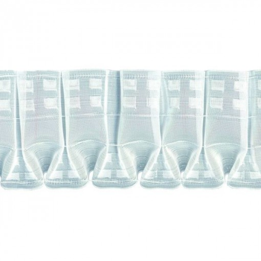 Cinta fruncido especial 120mm transparente