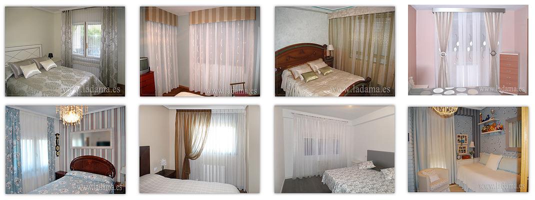 Cortinas dormitorios clasicos la dama decoraci n - Decoracion de dormitorios clasicos ...