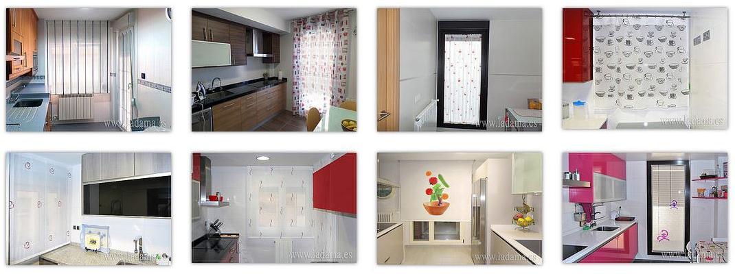 fotografias de cortinas de cocina