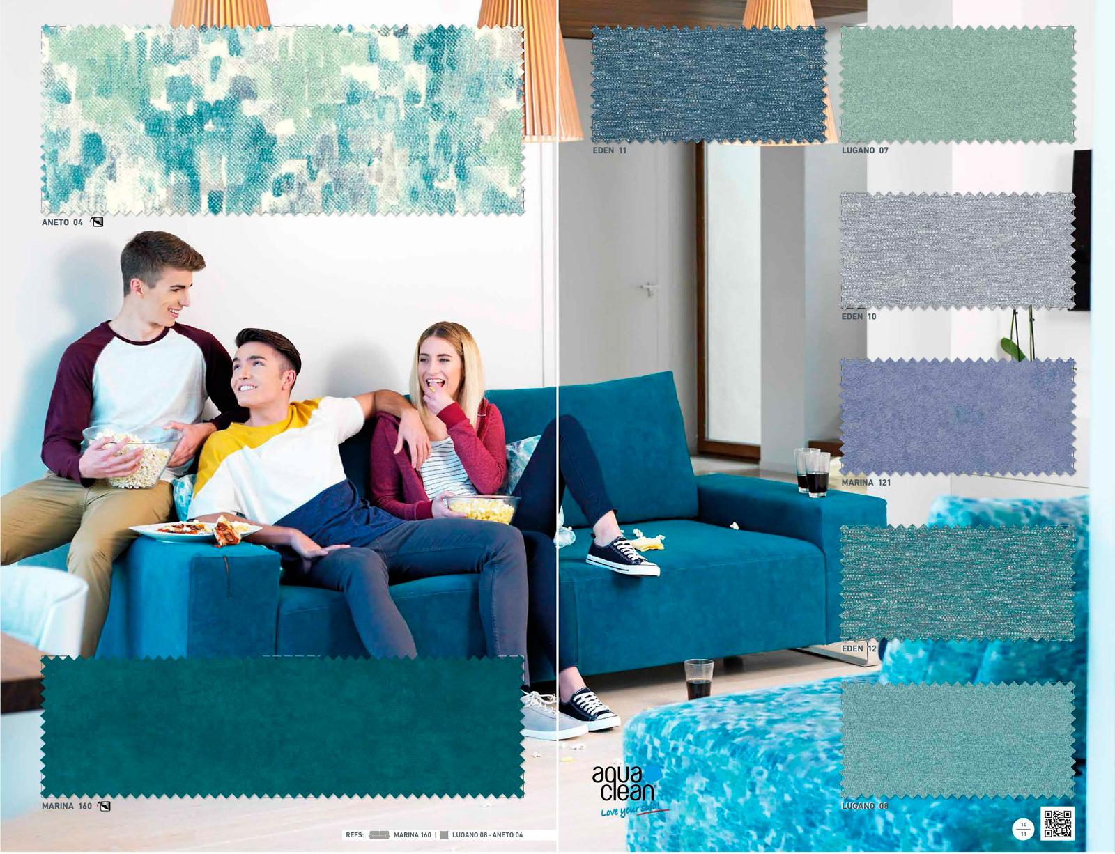Tapiceria azul rustika la dama decoraci n - Rustika decoracion ...