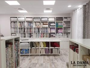 Interior de la Tienda, Sección Textil Hogar