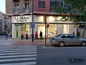 Nueva Tienda de Cortinas en Zaragoza de La Dama Decoración