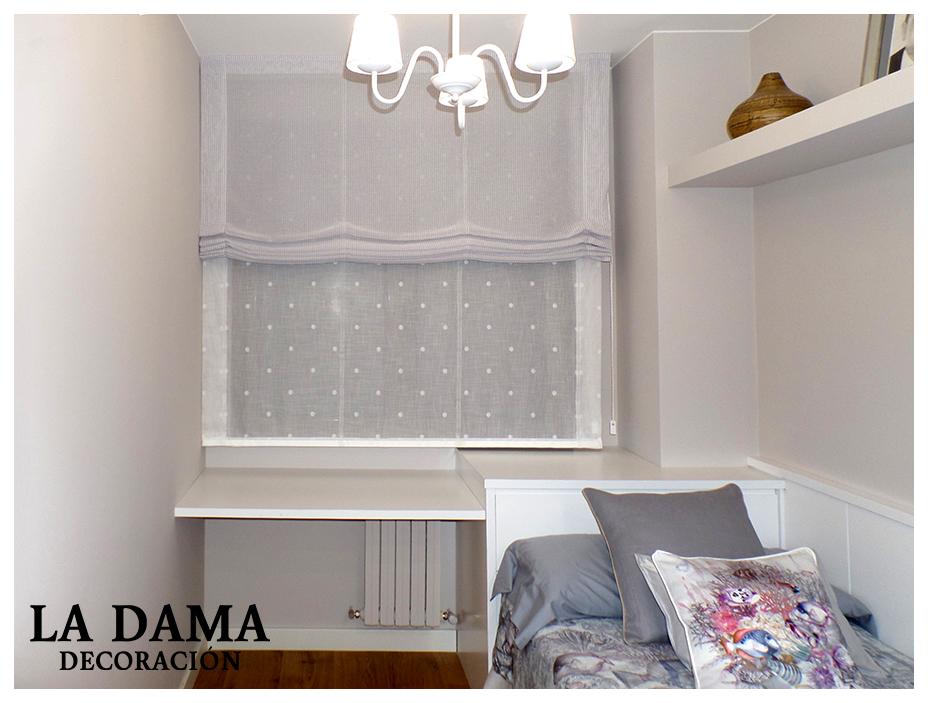 Cortina para dormitorio infantil la dama decoraci n - Cortinas dormitorio infantil ...