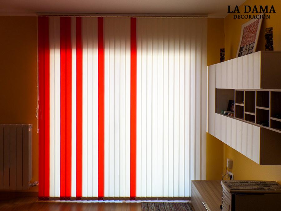 Cortinas verticales modernas la dama decoraci n - Cortinas verticales online ...