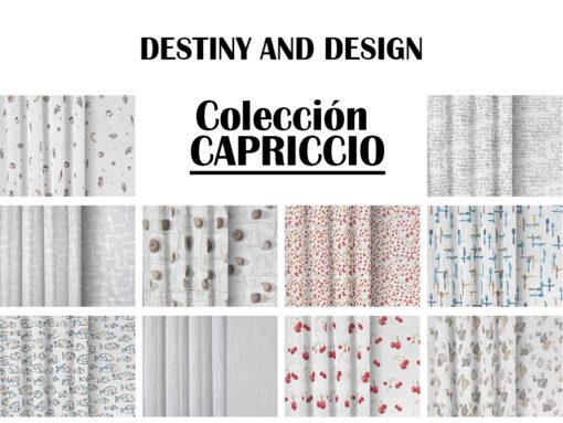 COLECCION CAPRICCIA DESTINY AND DESIGN