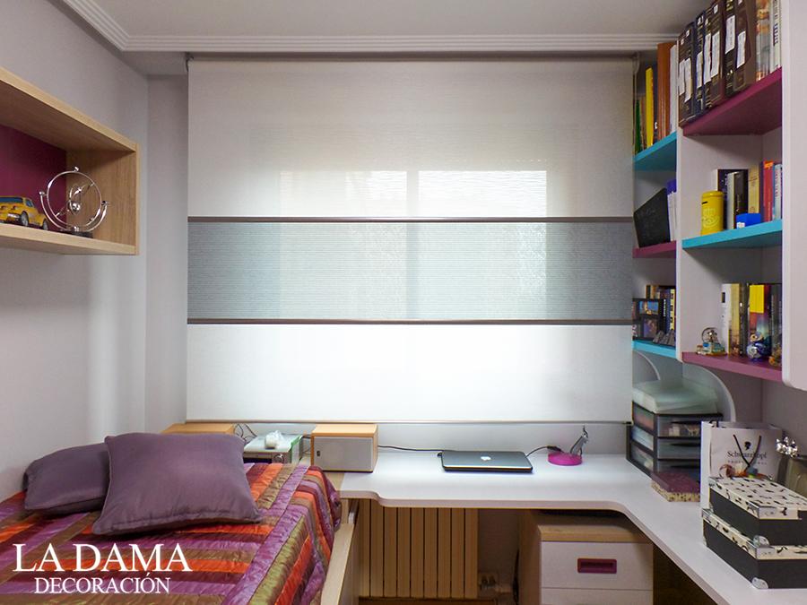 Estores juveniles 4 ideas para el dormitorio la dama - Estores para habitaciones juveniles ...