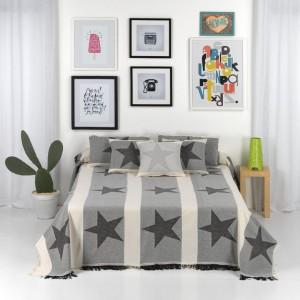 fular estrella cama