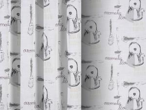 Tejido BASILICO Destiny and Design gris