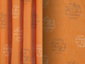 Tejido MORA Destiny and Design naranja
