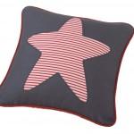 Cojín Estrella rojo