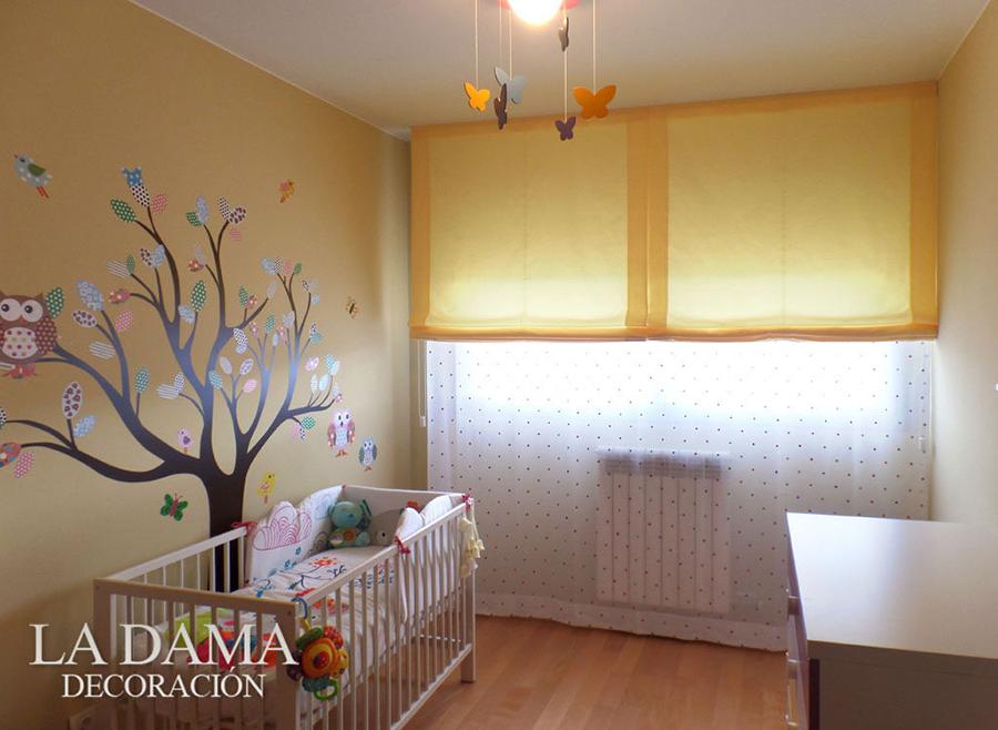 Cortinas y Estores en Dormitorio Infantil