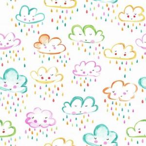 Telas Infantiles El viaje de Sindy Nubes 7