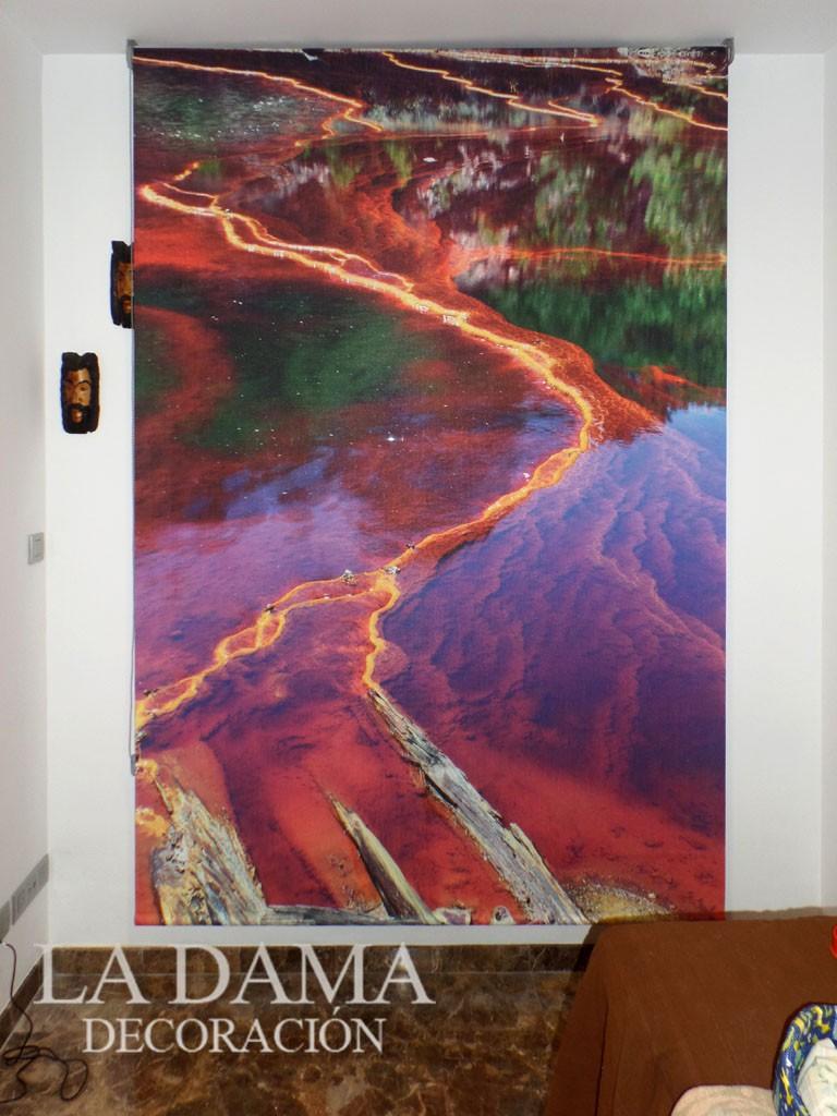 Cortina Fotográfica Río Tinto