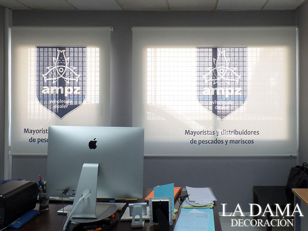 Cortinas con Logo para Empresa