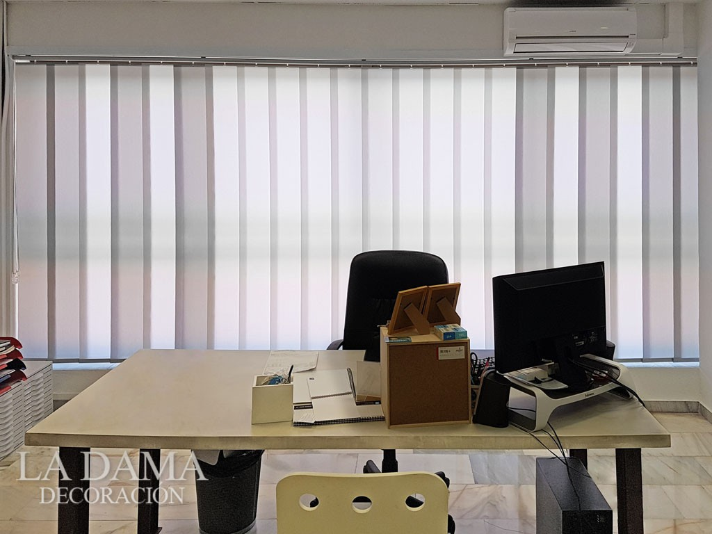 Cortinas Verticales para Oficina