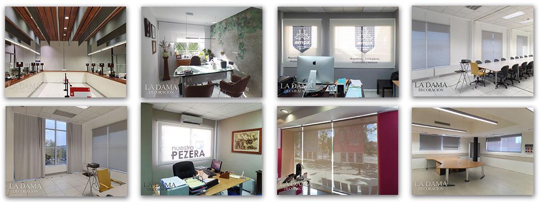 Fotografías de Cortinas en Oficinas o Comercios