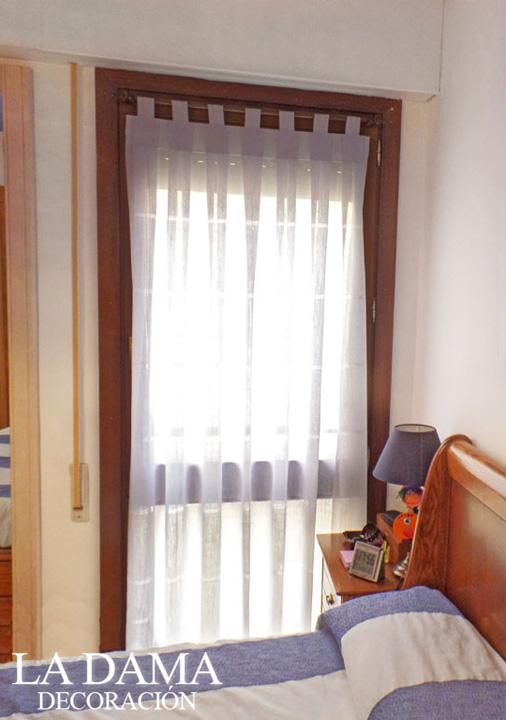 Cortina Trabillas Dormitorio