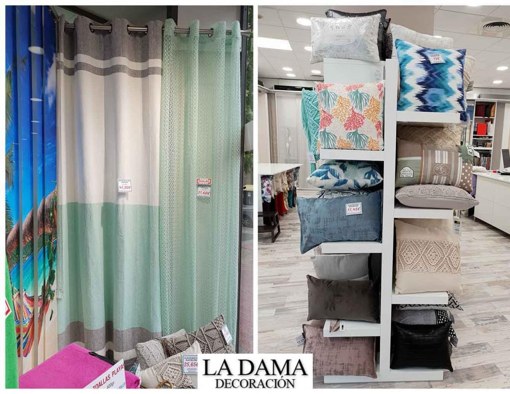 Rebajas en cortinas ropa textil y decoraci n la dama decoraci n - Cortinas baratas zaragoza ...